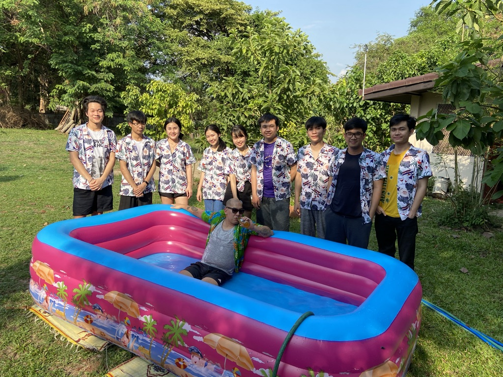 Lao new year pool party 2021